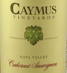 CAYMUS CABERNET SAUVIGNON -  750ML