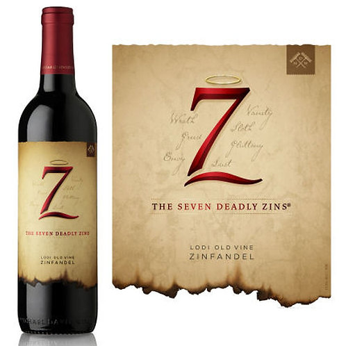 SEVEN DEADLY ZINS ZINFANDEL 750ML
