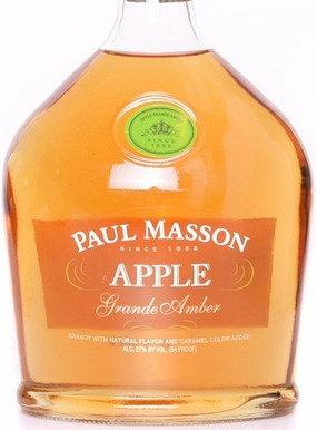 PAUL MASSON APPLE BRANDY -  375ML