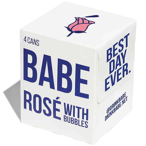 BABE ROSE BUBBLES 4pack