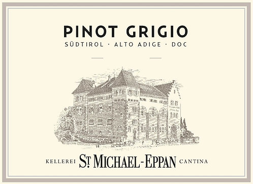 ST MICHAEL EPPAN PINOT GRIGIO -  750ML