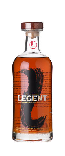 LEGENT BOURBON WHISKEY 750ML