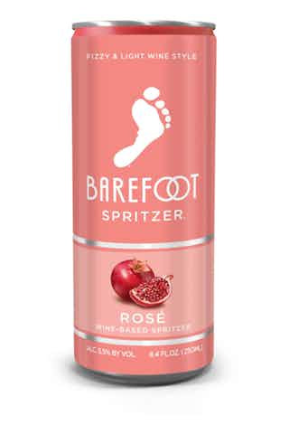 BAREFOOT Spritzer ROSE CAN -  250ML 4pack