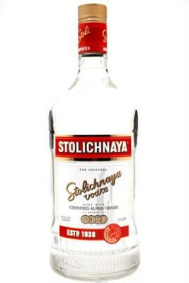 STOLICHNAYA VODKA -  1.75L