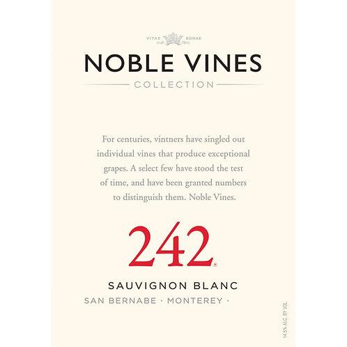 NOBLE VINES 242 SAUV BLNC -  750ML