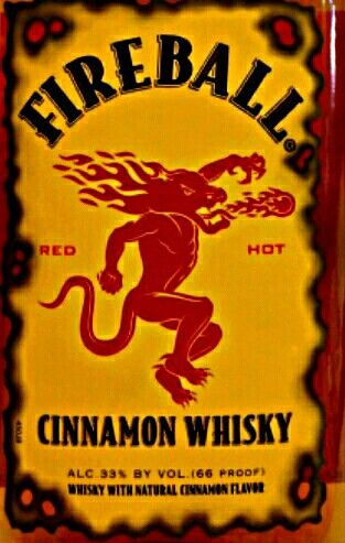 FIREBALL WHISKEY 100ML -  100ML