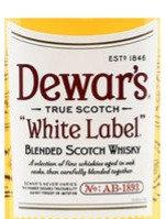 DEWARS WHITE LABEL SCOTCH - 375ml