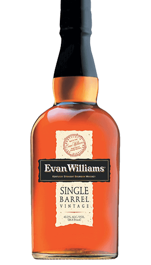 EVAN WILLIAMS SINGLE BARREL -  750ML