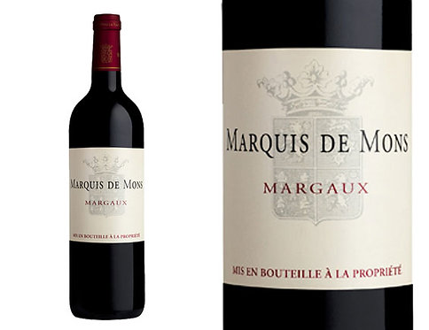 MARQUIS DE MONS MARGAUX -  750ML