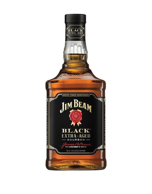 JIM BEAM BLACK BOURBON -  1.75L