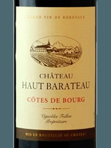 CHATEAU HAUT BARATEAU COTES DE BOURG 750ML