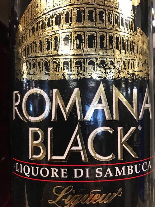 ROMANA BLACK SAMBUCA -  750ML