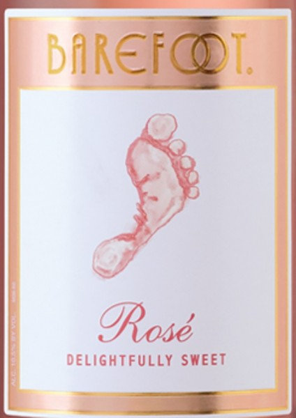 BAREFOOT ROSE -  1.5L