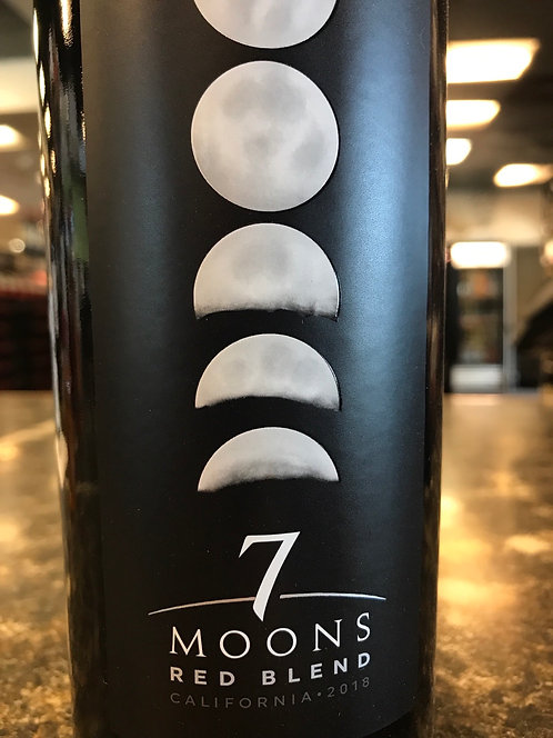 SEVEN MOONS RED BLEND -  750ML