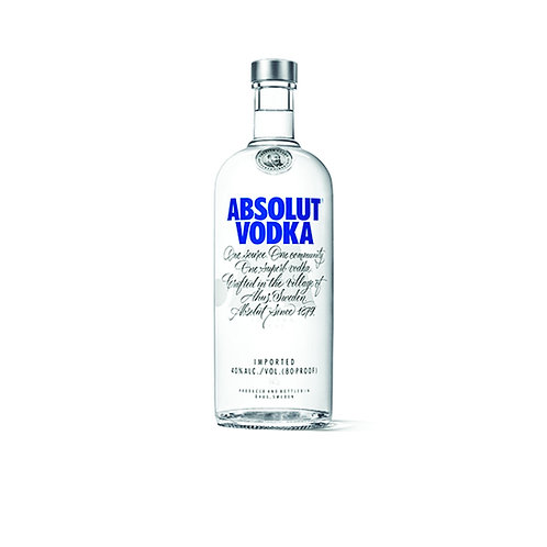 ABSOLUT VODKA -  375ML