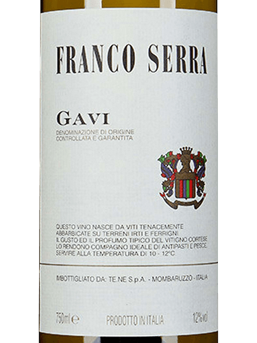 FRANCO SERRA GAVI 750ML