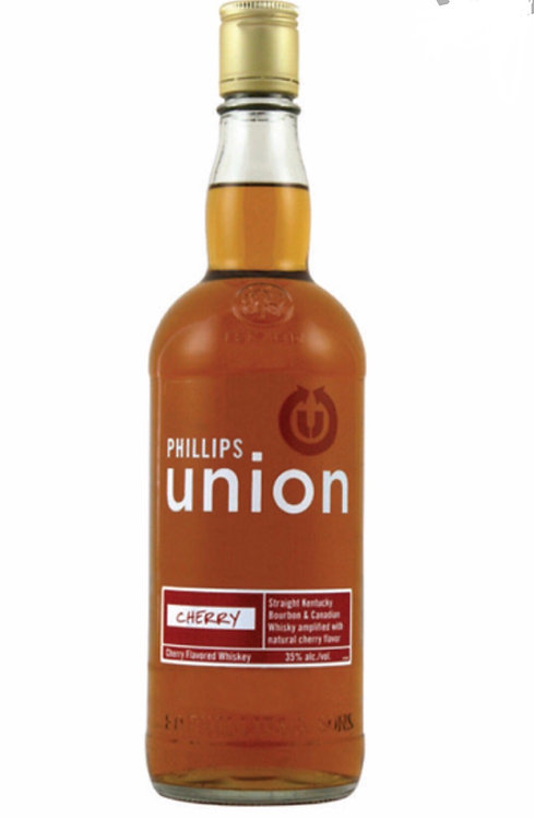 Phillips union cherry whiskey 750ml