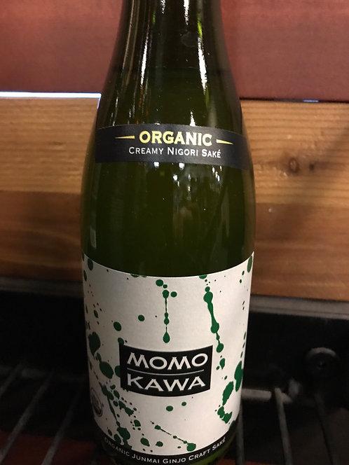 MOMOKAWA ORGANIC JUNMAI Nigori sake-  300ML