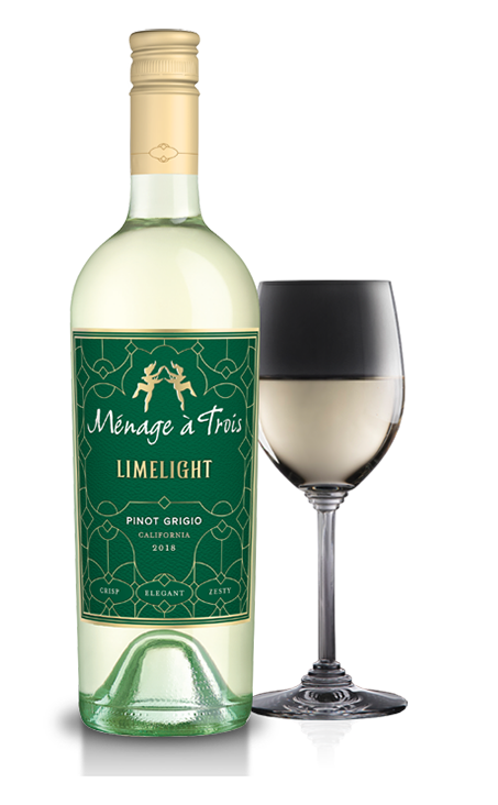 MENAGE A TROIS PINOT GRIGIO LIMELIGHT 750ML