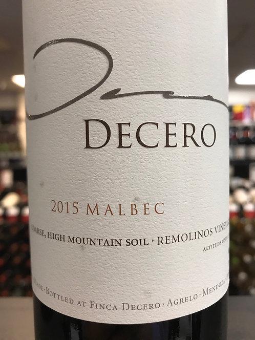 FINCA DECERO MALBEC -  750ML