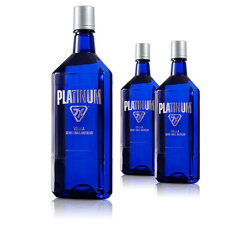 PLATINUM VODKA  -  1.75L