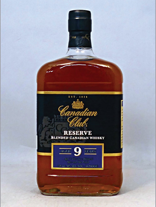 CANADIAN CLUB RESERVE9 YO -  1.75L