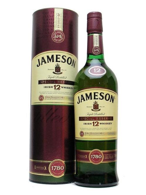 JAMESON IRISH WHISKEY 12 YR -  750ML