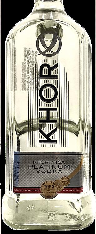 KHORTYTSA  PLATINUM VODKA -  1.75L