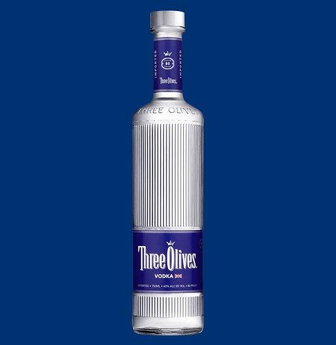 Three olives vodka 1Li