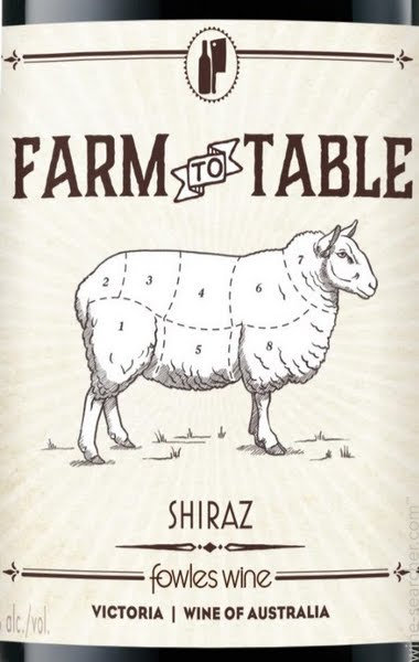 FARM TO TABLE SHIRAZ -  750ML