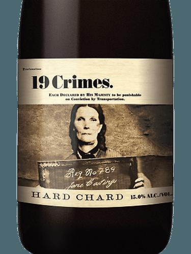 19 CRIMES HARD CHARDONNAY -  750ML