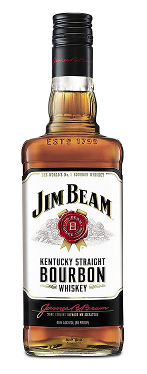 JIM BEAM BOURBON -  1L
