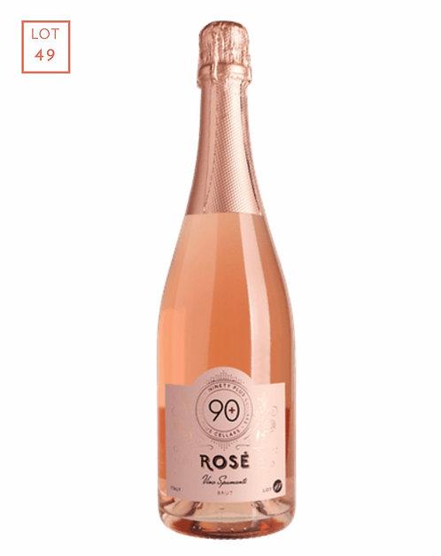 90 plus cellars sparkling rose 750ml