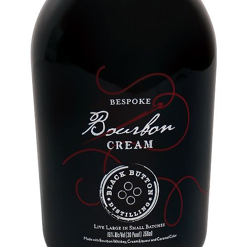 BLACK  BUTTON BOURBON CREAM -  750ML