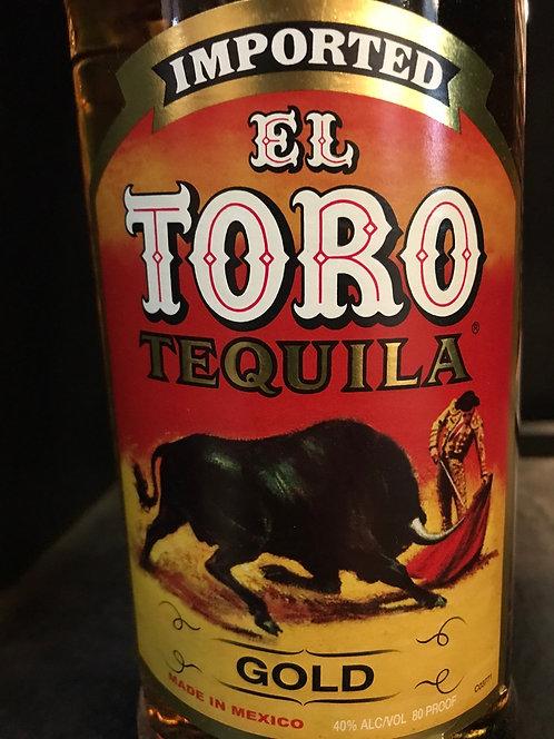 El toro tequila gold 1Li