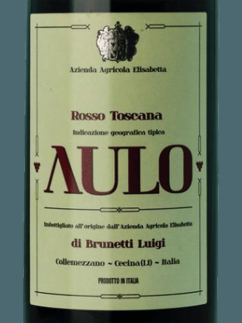 AULO ROSSO TOSCANA 750ML
