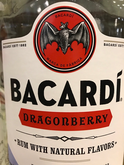 BACARDI DRAGONBERRY  -  1.75L