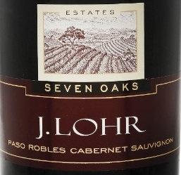 J LOHR SEVEN OAKS CABERNET -  750ML