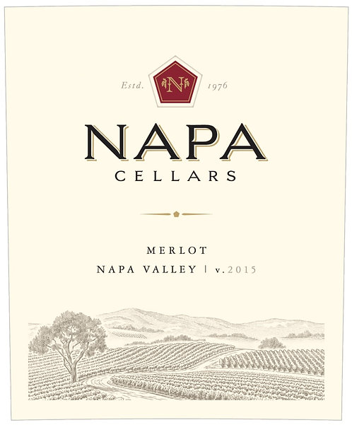 NAPA CELLARS MERLOT  -  750ML