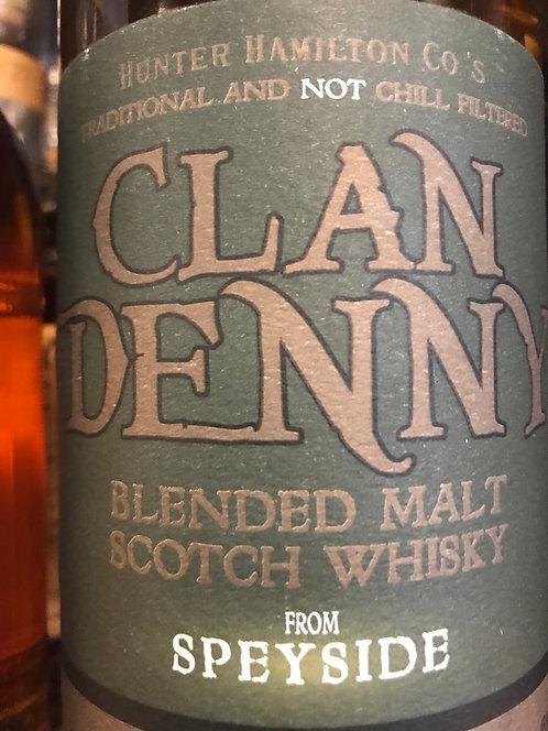 CLAN DENNY SPEYSIDE -  750ML