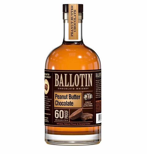 Ballotin Peanut Butter Chocolate Whiskey 750ml