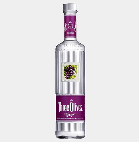 Three olives grape vodka 1Li