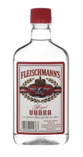 FLEISCHMANNS VODKA -  375ML