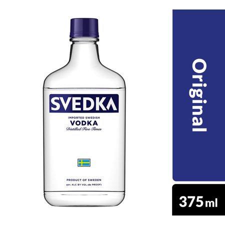 SVEDKA VODKA -  375ML