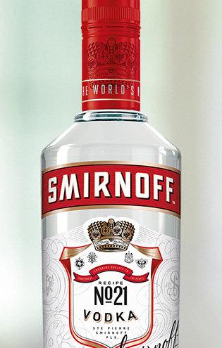 SMIRNOFF VODKA -  1L