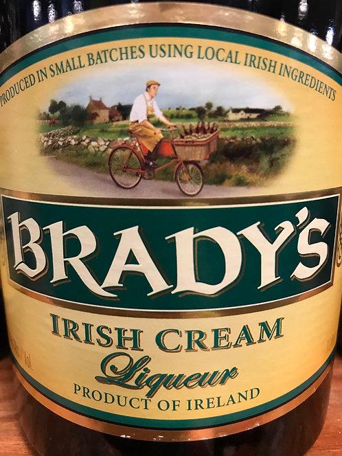 BRADYS IRISH CREAM -  1L