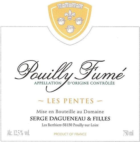 SERGE DAGUENEAU POUILLY FUME LES PENTES -  750ML