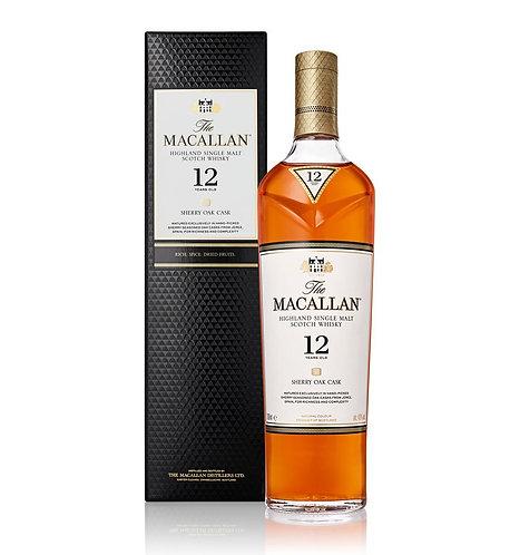 MACALLAN SCOTCH SHERRY 12 YR -  750ML