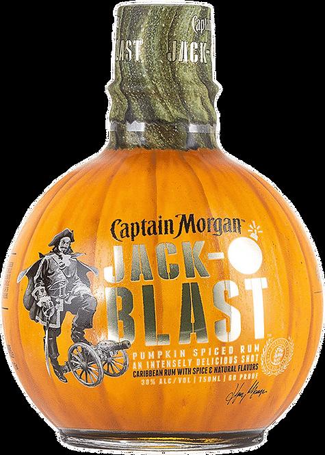 CAPTAIN MORGAN JACK O BLAST 750ML