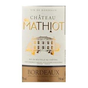 CHATEAU MATHIOT BORDEAUX 750ML